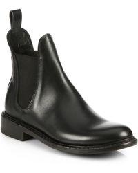 Rag & Bone Dartford Leather Chelsea Boots - Lyst