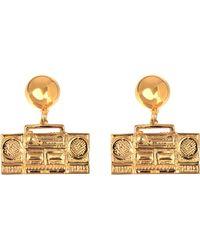 Moschino - Ghetto Blaster Earrings - Lyst