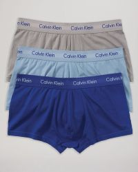 Calvin Klein Stretch Low Rise Trunks, Pack Of 3 - Lyst