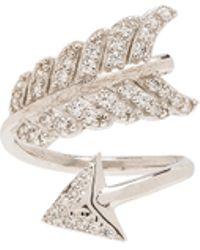 Natalie B. Jewelry - Shooting Arrow Midi Ring - Lyst