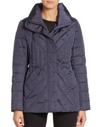 Creenstone - Chevron-quilted Jacket - Lyst
