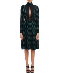 Proenza Schouler Mixed Media Dress - Lyst