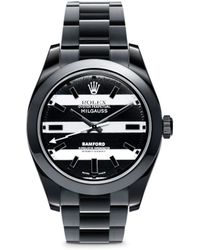 Bamford Watch Department - Rolex Milgauss Oyster Perpetual Watch - Stripe - Lyst