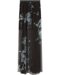 Raquel Allegra Tie Dye Maxi Skirt - Lyst