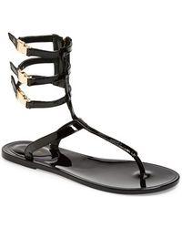 Rachel Zoe 'Cecille' Leather Ankle Strap Sandal - Lyst