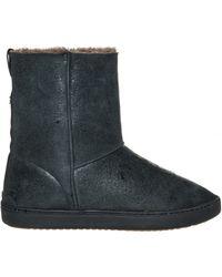 Rag & Bone | Kali Lambskin Sneaker Boots | Lyst