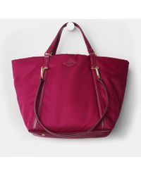 MZ Wallace Small Astor Tote Begonia Puff Bedford - Lyst