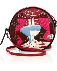 Olympia Le-Tan | Upside Down Alice Round Crossbody Bag | Lyst