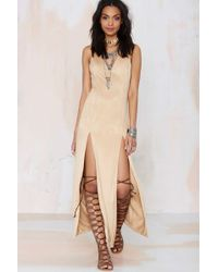 Nasty Gal Love Me Two Times Maxi Dress - Lyst