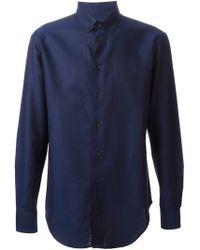 Armani Button Down Shirt - Lyst