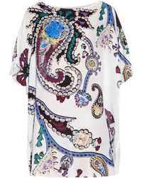 Mary Katrantzou Fergie Printed Silk Dress multicolor - Lyst