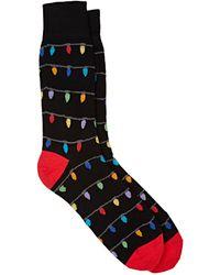 Corgi - Men's Holiday-lights Mid-calf Socks - Lyst
