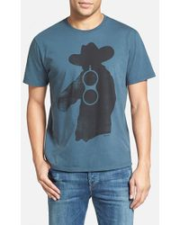 Ames Bros - 'get Off' Graphic T-shirt - Lyst