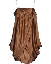 Designers Remix Short Dress - Lyst