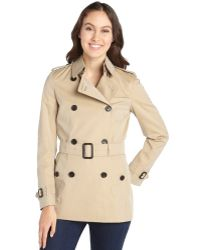 Burberry Honey Doublebreasted Trench Coat - Lyst