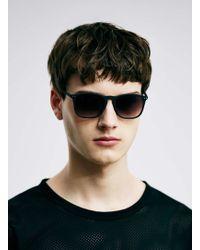 LAC - Bk Rubber Sunglasses - Lyst