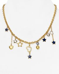 "Marc By Marc Jacobs Shooting Star Charm Necklace, 19""L - Lyst"