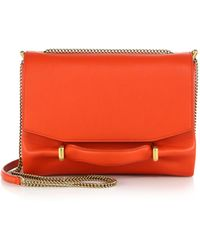 Nina Ricci Marche Chain Shoulder Bag red - Lyst