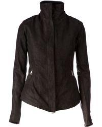 Giorgio Brato High Collar Jacket - Lyst