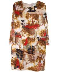 Giada Forte - Printed Short Dress - Lyst