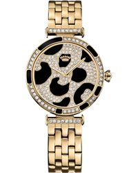 Juicy Couture Womens J Couture Goldtone Stainless Steel Bracelet Watch 34mm - Lyst