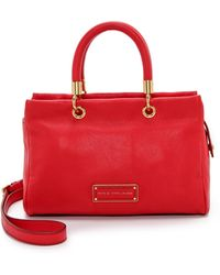 Marc By Marc Jacobs Too Hot To Handle Satchel - Cambridge Red - Lyst