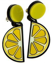 Yazbukey - Lemon Earring - Lyst