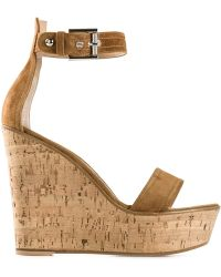Gianvito Rossi Platform Wedge Sandals - Lyst