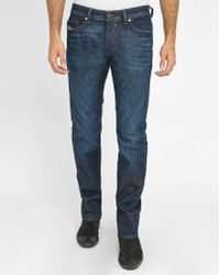 DIESEL | Blue Safado Raw Denim Jeans | Lyst