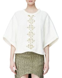 Sass & Bide - The Story Line Knit Top - Lyst