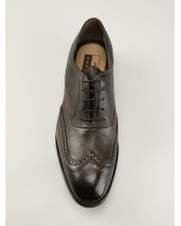 Premiata Endless Lace-Up Oxford Shoes - Lyst