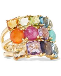 Ippolita - Rock Candy® Cluster 18-karat Gold Multi-stone Ring - Lyst