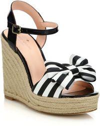 Kate Spade | Darya Espadrille Wedge Sandals | Lyst
