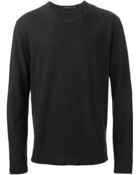 T By Alexander Wang Round Neck T-Shirt - Lyst