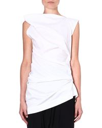 Vivienne Westwood Anglomania Taxa Cotton Top  - Lyst