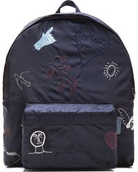 Carven Embroidered Backpack - Lyst