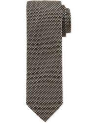 Hugo Boss Small Diamond Slim Silk Tie - Lyst