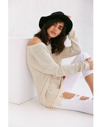 Pins And Needles - Lace-trim Sweater - Lyst