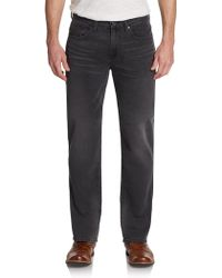 7 For All Mankind Carsen Straight-leg Jeans - Lyst