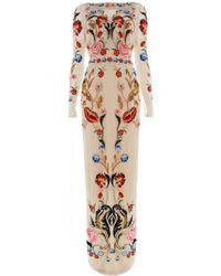 Temperley London Long Toledo Tulle Dress - Lyst