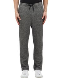 T By Alexander Wang French Terry Drawstring Sweatpants - Lyst