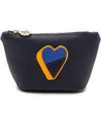 Tory Burch Kerrington Trapeze Cosmetic Case - Tory Navy - Lyst