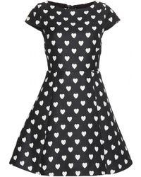 Alice + Olivia Amor Printed Dress - Lyst