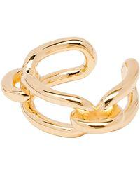 Balenciaga Gold Maillon Ring - Lyst
