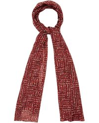 Cc Painted Dot Print Scarf - Lyst