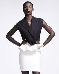 Lanvin Ruffle-waist Skirt - Lyst
