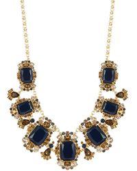 Kate Spade Rhinestone Statement Necklace - Lyst