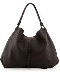 Bottega Veneta Xl Cervo Shoulder Bag - Lyst