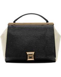 Furla Cortina Leather Colorblock Top Handle Bag - Lyst