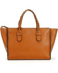 Valentino Tbc Braided Small Tote Bag - Lyst